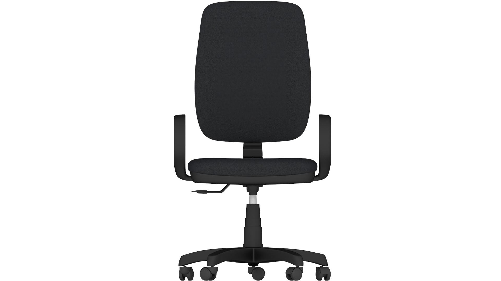 Sedia da Ufficio in Polipropilene ACTIVE Nera